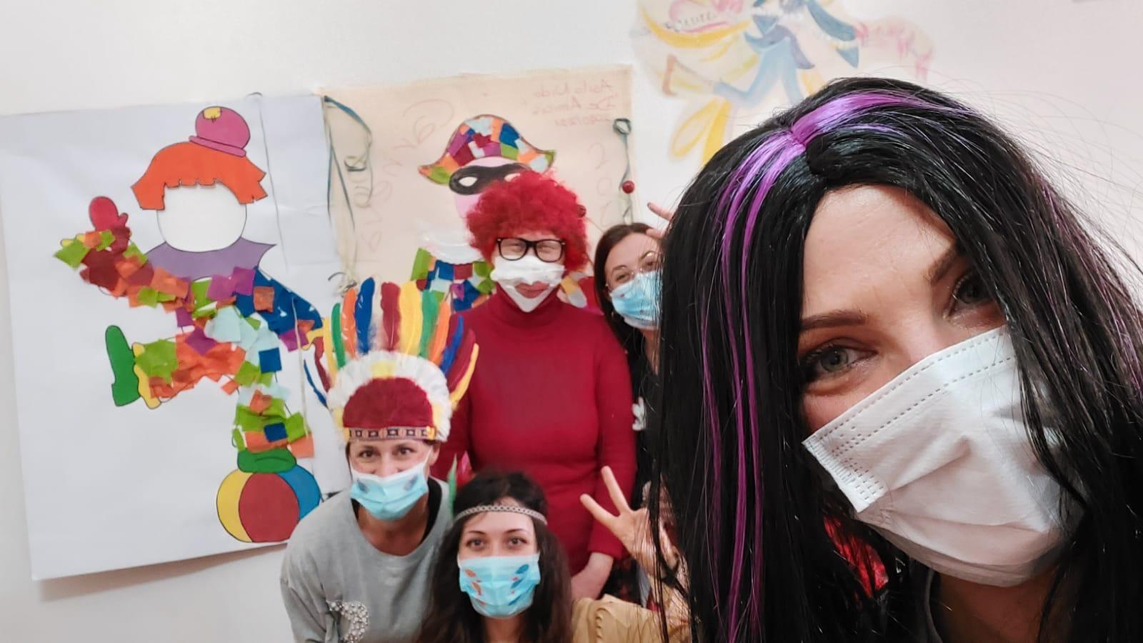 Carnevale per i bimbi dell'Istituto Castorani di Giulianova (Te)