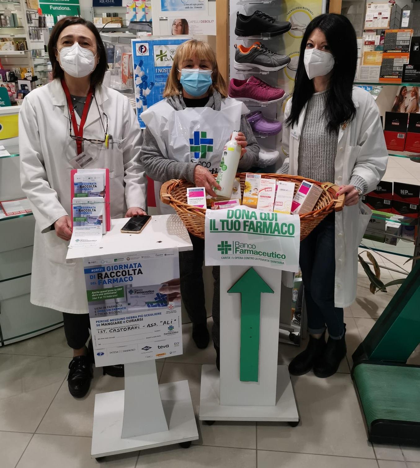Donazione farmaci e prodotti per l'infanzia all'Istituto Castorani di Giulianova (Te)