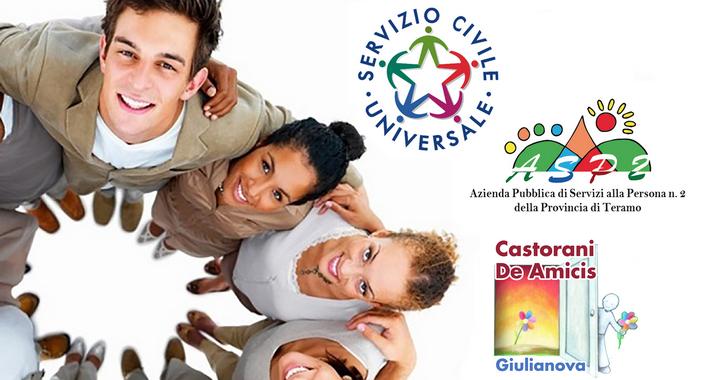 Servizio Civile Istituto Castorani - De Amicis. Bando Ordinario Servizio Civile - Regione Abruzzo